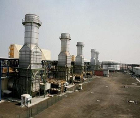 Az-Zour South Power Plant, Kuwait -825 MW